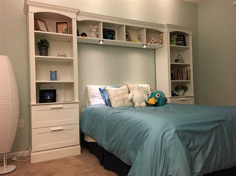 ana white bed bridge bookcase diy projects