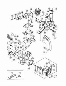 Hitachi Model Cs33eb Chainsaw  Gas Genuine Parts