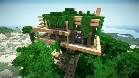 Jungle Treehouse By Keralis Minecraft Project