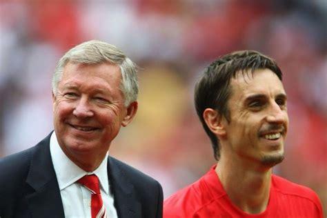 Sir Alex Ferguson & Gary Neville   Man utd news, Sir alex ...