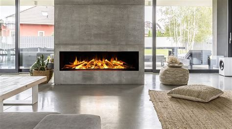 marvik glass fronted fireplace   degree view