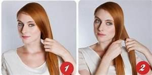 Coiffure Mariage Facile Cheveux Mi Long : coiffure facile cheveux mi long coiffure simple et rapide coiffure simple et facile ~ Nature-et-papiers.com Idées de Décoration