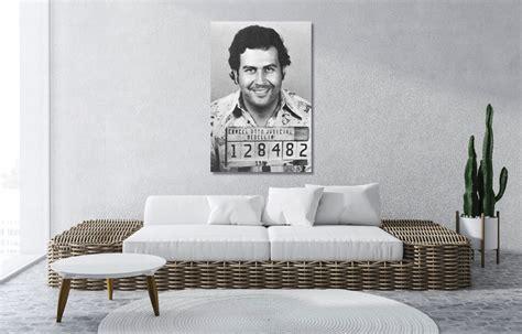 Pablo Escobar Mugshot Maffia Art
