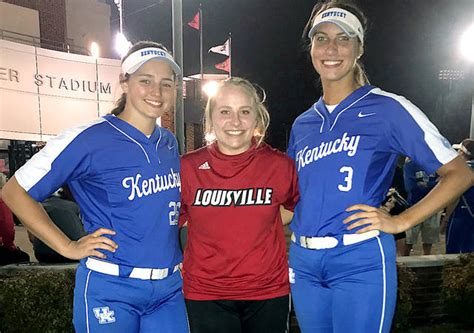 softball sisters areas kentucky louisville game