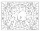 Pokemon Coloring Jolteon Adult Mandala Mandalas Windingpathsart Gx Pikachu Mega Alakazam Ninetales Coloriage Vaporeon Colorear Printable Getcolorings Clay Tareitas Gemt sketch template