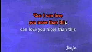 One Direction More Than This Lyrics - YouTube