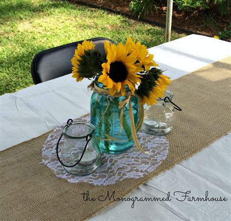 Rustic Country Themed Graduation Party The Monogrammed