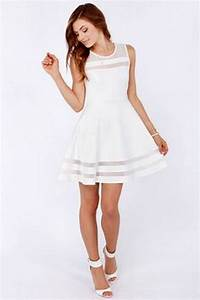 White bridal shower dress for White wedding shower dress
