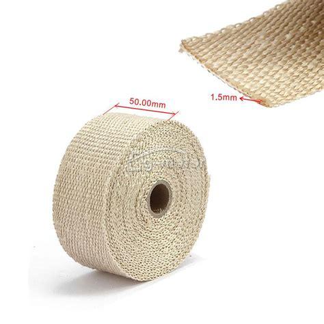 high heat exhaust insulation header pipe tape wrap