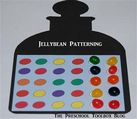 5 jelly bean math activities for preschool and 873 | Jellybean Patterning