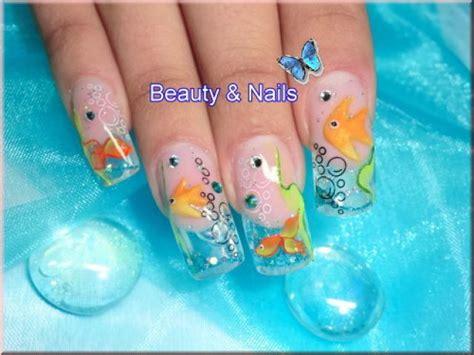 aquarium nails anleitung aquarium nails 100 st 252 ck mit box ebay