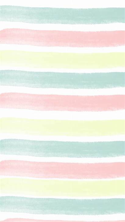 Vsco Pastel Wallpapers Simple Striped Fondos Iphone