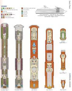 carnival legend deck plans cabins redwood woodworking