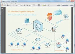 Network Diagram Template Excel