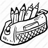 Pencil Case Icon Clipart Education Tools Writing Premium Utensils Tool Svg Pack Save Icons Flaticon sketch template