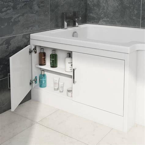 Bath Panel Cupboard by Myspace Water Saving L Shape Shower Bath Left With