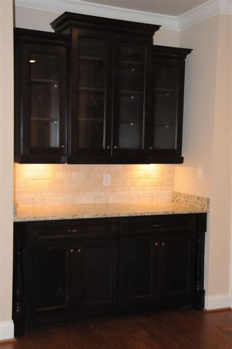 Built In Bar Cabinets by Built In Bar China Cabinet Built Ins And Wall Decor