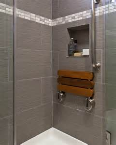 gray bathroom tile ideas folding shower seat bathroom contemporary with gray shower
