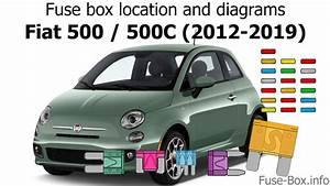 Fuse Box Location And Diagrams  Fiat 500  500c  2012