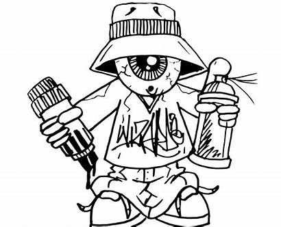 Graffiti Coloring Pages Adults Teens Artist