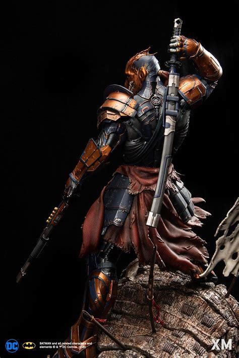 xm studios dc premium collectibles deathstroke samurai