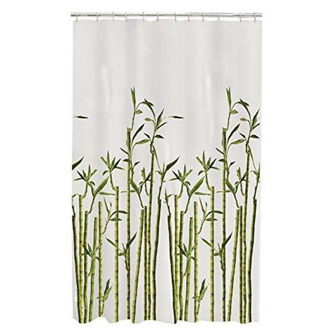 bamboo shower curtain maytex bamboo photo real peva vinyl shower curtain new ebay