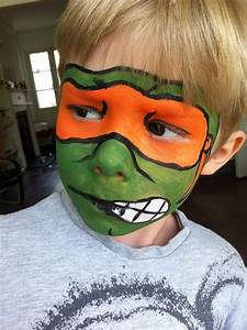 17 best ideas about Ninja Turtle Face Paint on Pinterest ...