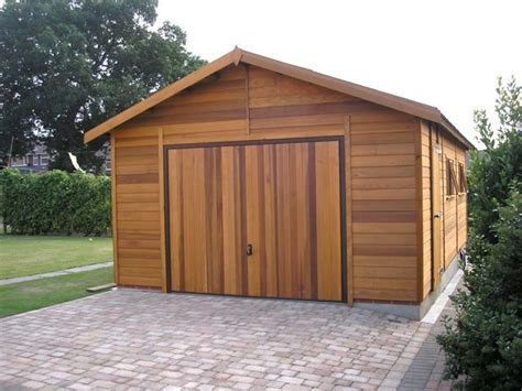 Wooden Garages  Ecofriendly Building That Fits Your