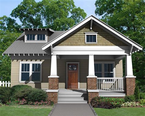 House Plans Front Porch by Charming Craftsman Bungalow With Front Porch