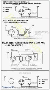 Hard Start Capacitor Wiring Diagram Throughout Starting