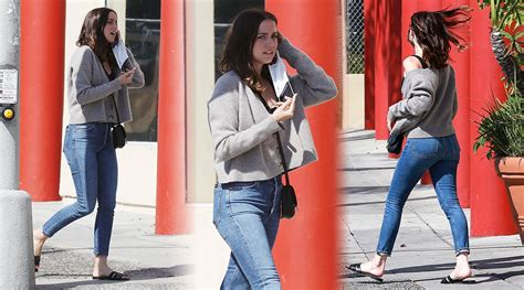 Ana De Armas Sexy Ass In Tight Jeans Out In Santa Monica