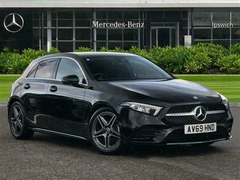 The site owner hides the web page description. 2019 Mercedes-Benz A Class A200 AMG Line 5dr Petrol black Manual   in Ipswich, Suffolk   Gumtree