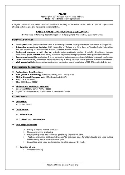 Best Resume For Experienced Format by Best 25 Resume Format Ideas On Resume Resume