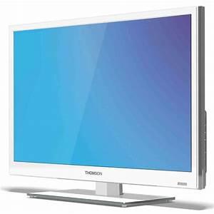 Tv 80 Cm Blanche : thomson 28hz4233w blanc tv thomson sur ~ Teatrodelosmanantiales.com Idées de Décoration