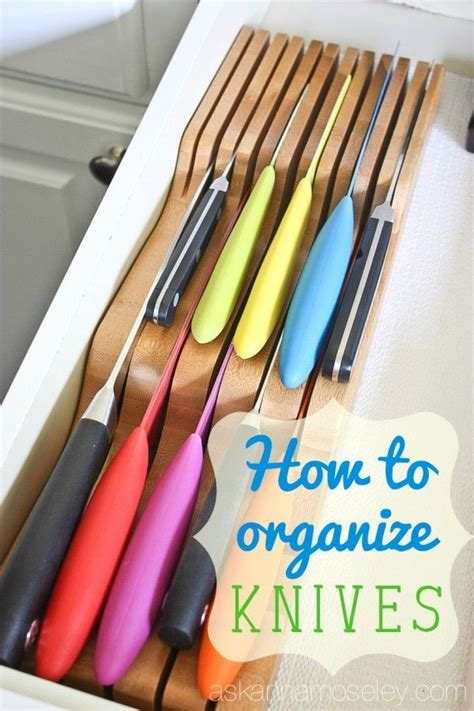 kitchen knife organizer free up counter space by using the totally bamboo 20 2091 2107