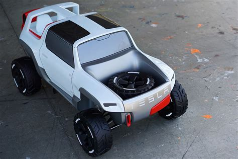 tesla jeep concept tesla allterrain concept cars diseno art