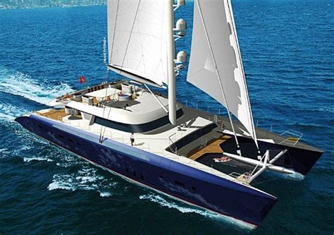 Largest Catamaran Yacht by World S Largest Luxury Catamaran Unveiled And It S Yours