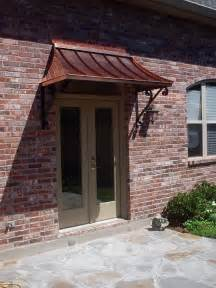 Copper Front Door Awning