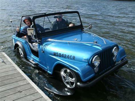 Custom 'jeepski' Boatjeep Ewillys