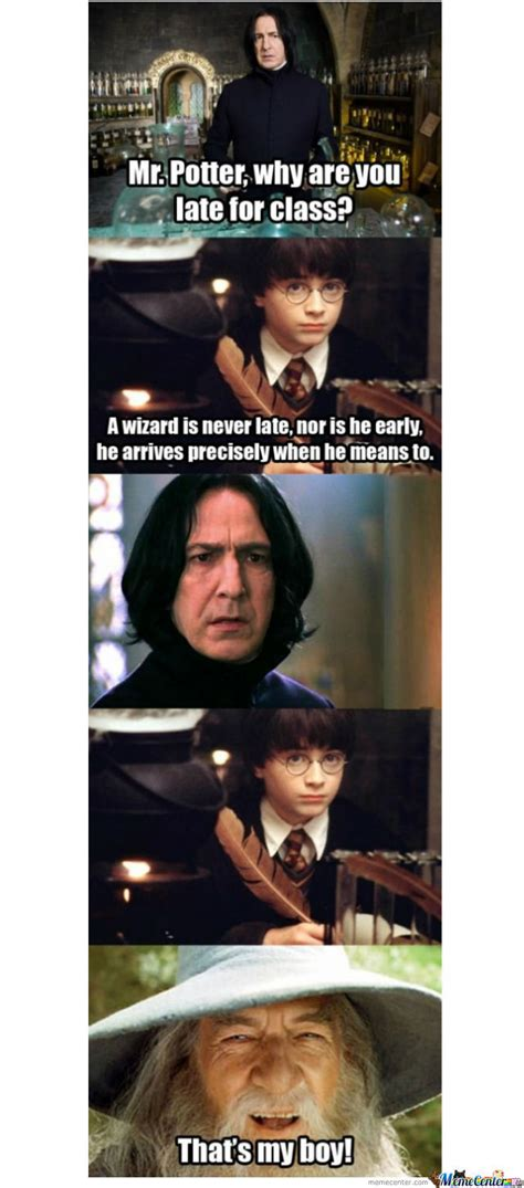 Harrypotter Memes - harry s new teacher by auburnwde1993 meme center
