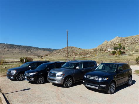 2014 Range Rover Sport vs Highlander vs Durango vs 2014