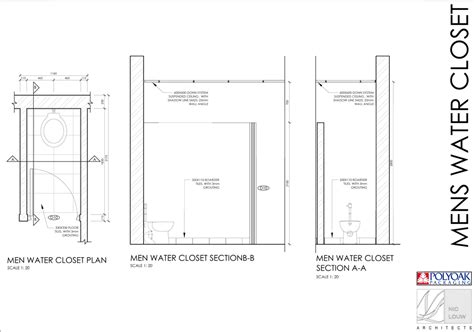 production area standard room sizes water closet