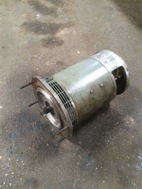 Electric Motor Purchase by 2376535 Used Electric Motor Clark Forklift Eca20 E138 12