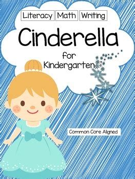 cinderella unit  kindergarten math literacy writing