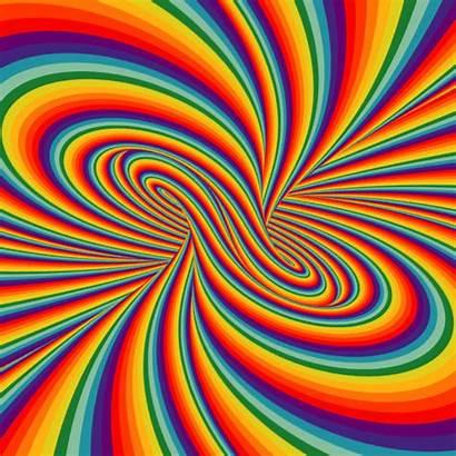 Animated Fractal Illusions Animhut Optical Trippy Illusion