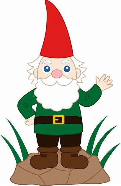 Gnome Garden Clip Friendly Sweetclipart