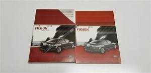 2010 Ford Fusion Owners Manual User Guide Titanium Sel Se