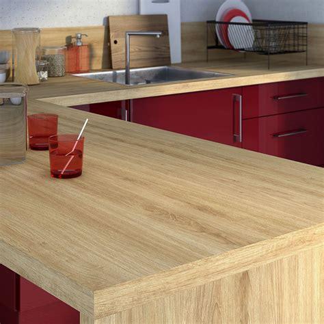 plan de travail cuisine stratifié leroy merlin plan de travail stratifié effet chêne naturel mat l 315 x
