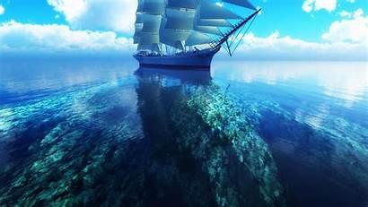Ocean Backgrounds Wallpapers Sea Widescreen Definition Windows