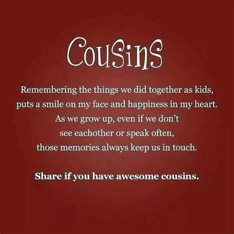 Pin by Aseema G on family | Cousin quotes, Best cousin ...